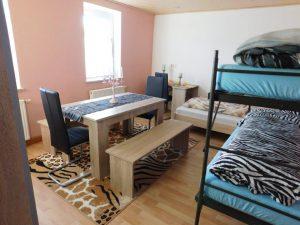 Schlafzimmer der gemischten WG Oberrohr/Ursberg bei Krumbach