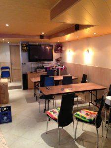 Zimmervermietung - gemeinsamer Aufenthaltsraum