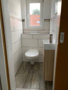 Arbeiterunterkunft Babenhausen - WC